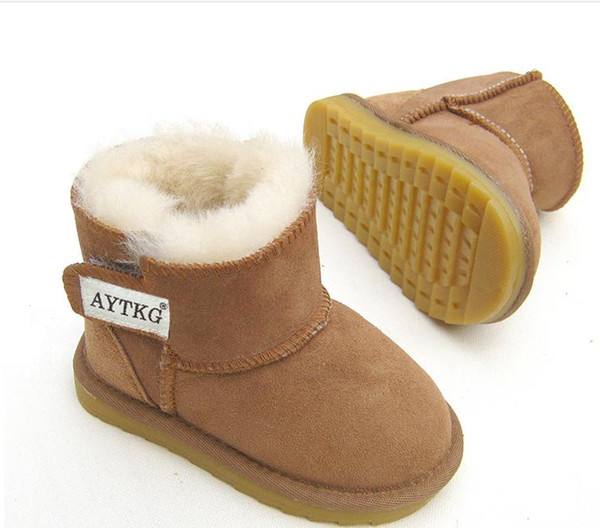 Hot Sale Boots Shoes Kids PU Patchwork Slip-resistant Fashion Martin Boots Girls Ankle Boots European shoe size: