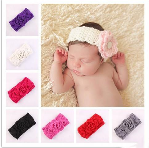 Fantastic headband hair band baby newborn bow photo prop party flower girls E ES Baby & Toddler Clothing