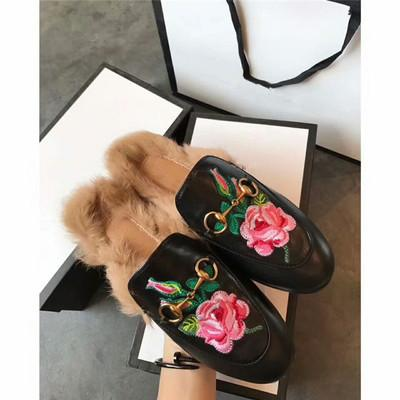 black leather with flower