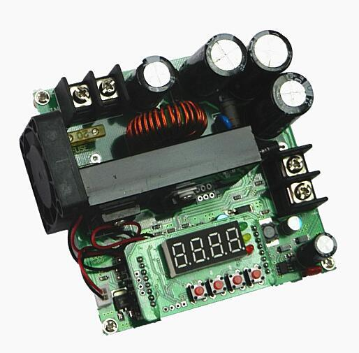 B900W adjustable boost module Constant voltage current Transformer Module Regulator Input 8-60V to 10-120V 900W