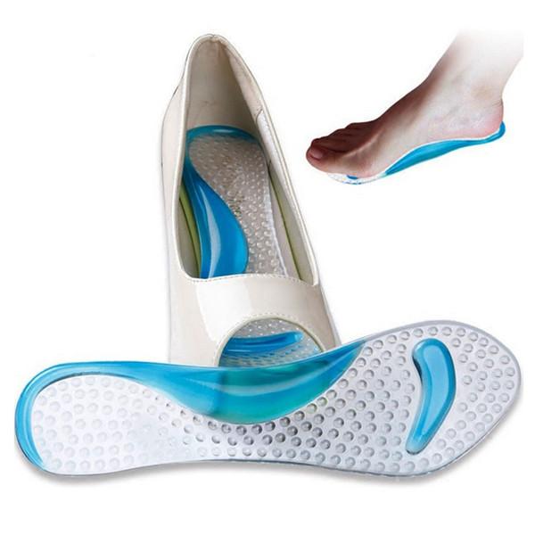 e84dd79eb4352f Anti-Slip Chaussures Coussin Talon Haut Arch Semelle Intérieure Soutien En  Silicone Gel Pads Chaussures