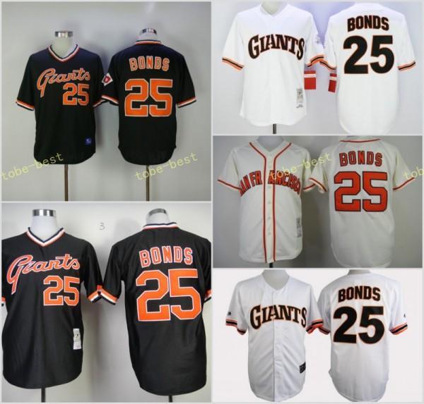 d98f485e2 ... get san francisco giants 25 barry bonds home away sf jersey orange grey  cream 8a9d5 1f236