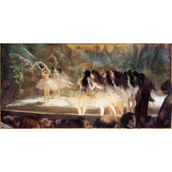 Bale dansçıları resimleri Bale Paris Opera Edgar Degas Boyama oturma odası dekor için el boyalı