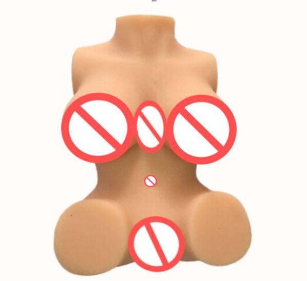 Bambole del sesso del silicone Big Breast giocattoli del sesso per adulti per gli uomini, masturbatore in silicone solido, stretta bambola del sesso anale della vagina per il maschio, prodotti del sesso2017