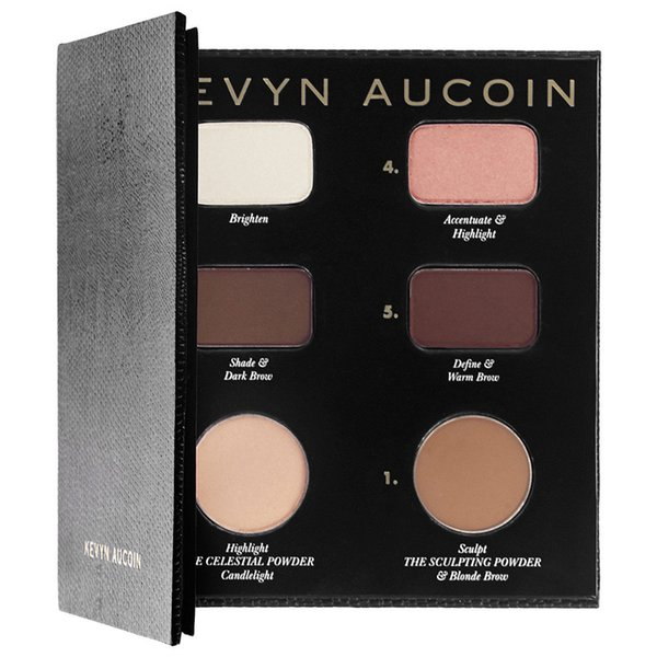 DHL Kevyn Aucoin Contour Book Highlight & Shadow plate DHL Free shipping+GIFT top quality best price top quality