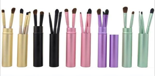 Makeup Brush Kit 5 pcs/set Eyeliner Eyebrow Brush Eye Shadow Blending Brush Set Free Shipping