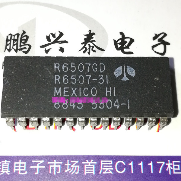 R6507GD . R6507-31 , R6507P . R6507-11 / R6507-15 /8-bit Microprocessor,dual in-line 28 pins plastic package integrated circuit,R6507 PDIP28