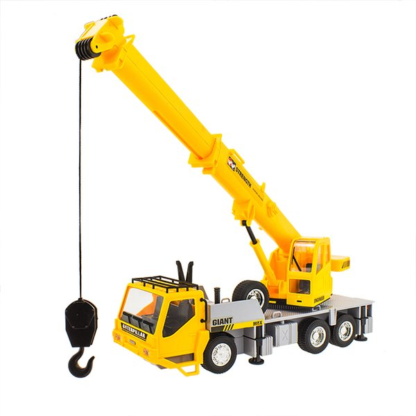 Wholesale- 100% New 1:18 motor RC crane remote control 4 wheel electric toy trucks charging boy car child cranes model