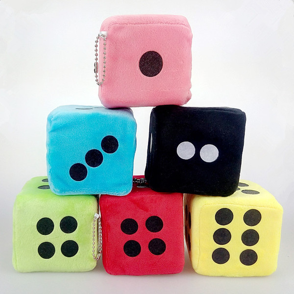 Throw A Dice.2019 Dice Doll Throw The Dice Plush Toys Pendant Game Gift Figure Dot Throw Dice Plush Toys Pendants From Vipkid 0 76 Dhgate Com
