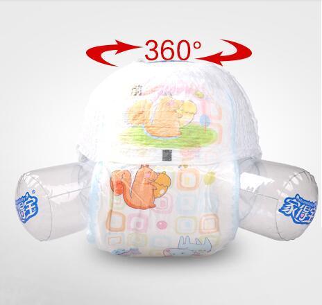 Prix le plus bas 2019 Vente d'usine Vente en gros bébé Couches Economy Pack Serrures étanches à trois dimensions dans l'urine Taille mince XXL W17JS468