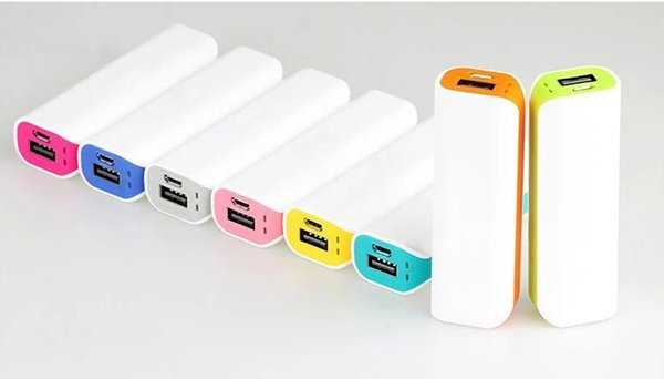 Portable Charger power bank External Battery 2600mAh powerbank+white box+cable for iphone 6 5s 4s for Samsung etc