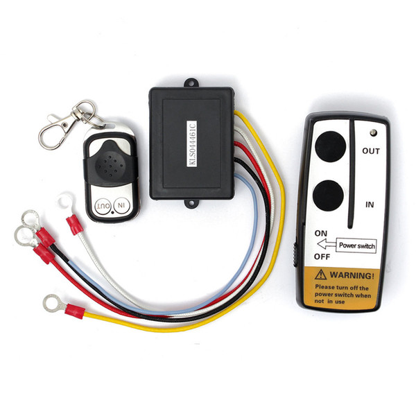 Wholesale-Brand New High Quality Wireless Winch Remote Control Switch Unit for Truck ATV SUV Winch
