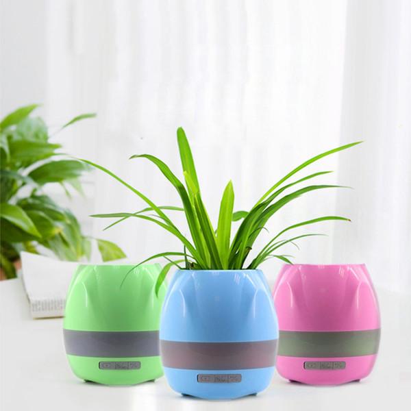 Il nuovo tocco intelligente libero della pianta reale dei vasi di fiore di musica di Bluetooth Smart ha prodotto la luce variopinta libera del flowerpot