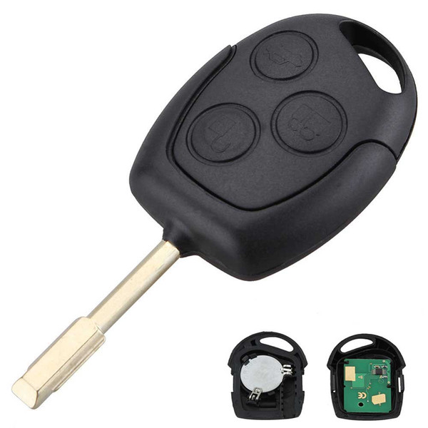 315/433MHZ Car 3 Buttons Remote Entry Key Fob For Ford Mondeo Fiesta Focus Ka Transit With Chip 60