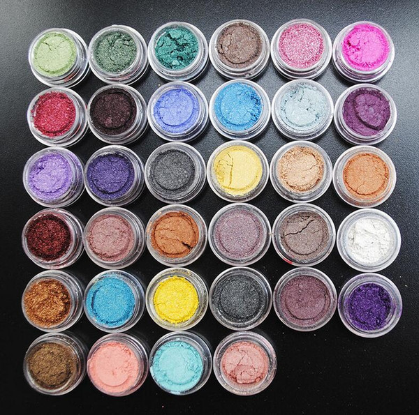 top popular Pro Diamond Eye Shadow Makeup Cosmetic Shimmer Powder Pigment Mineral Glitter Spangle Eyeshadow Flash Powder Super Bright 60 Colors 2020