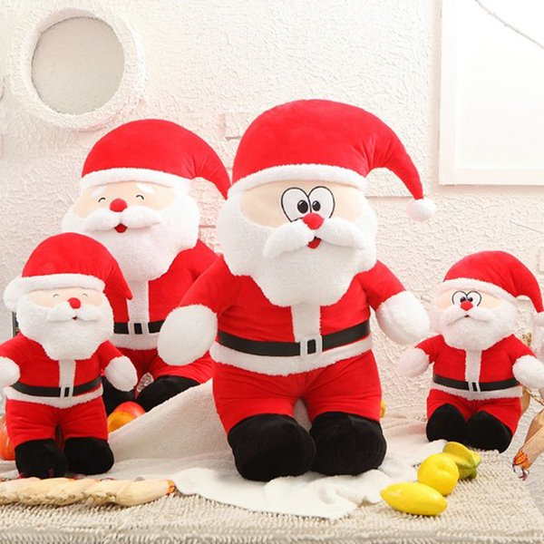 Father Christmas Images Free.2019 New Year Christmas Santa Claus Plush Toy Father Christmas Stuffed Doll Baby Toys Xmas Decoration Stuffed Toy Monkey Chicken Plush Toy From