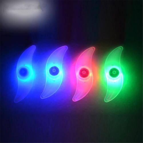 Spoke Light Wheels Lámpara de Montaña Bicicletas Motocicleta Bicicleta de Alambre de Acero LED Flash Luz de Neumático Rueda Válvula Tapa de luz