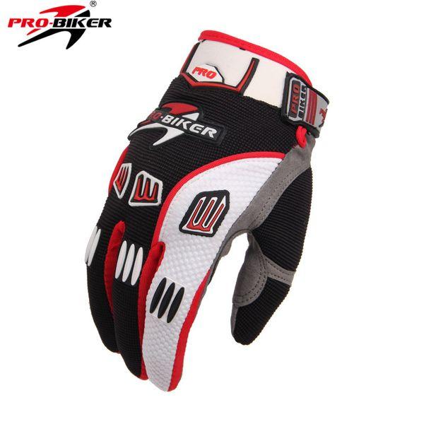 Оптовая-Pro-байкер мотоцикл Велоспорт грязь защитное снаряжение гонки перчатки лето полный палец рыцарь езда мотоцикл мотоцикл перчатки