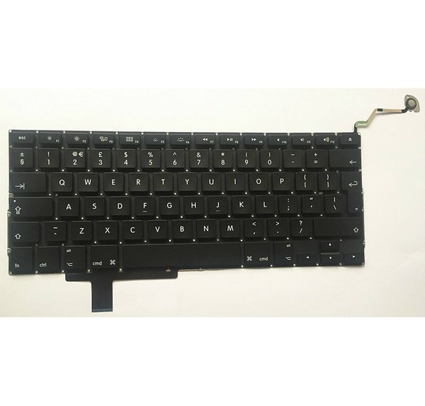 "New UK Keyboard Fits For Macbook Pro A1297 17"" Unibody UK Keyboard Non-Backlight 2009 2010 2011"