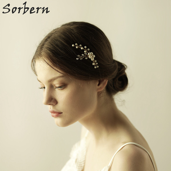 Gold/Silver U-shape Bridal Hair Pins 2018 New Wedding Accessories Wedding Headpiece Hair Accessories Head Jewelrys For Women
