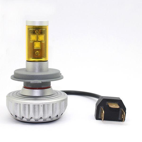 Hi-Lo Beam H4 H7 H11 LED Headlight 3S CREE Chips 60W 6000LM Car Auto Front Fog Light Bulb Headlamp 6500K DRL Driving Headlights