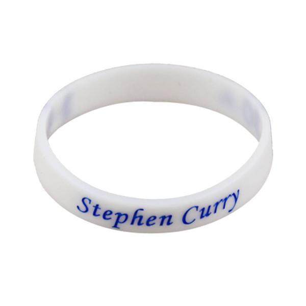 Stephen Curry Signature Bracelets Sports Silicone Bracelet Personalized Bracelet Gym Fitness Elastic Bracelets For Fans Free Shipping