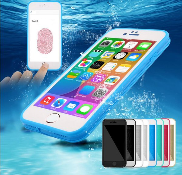 cheap for discount 4d40c a5fe2 2017 HOT Ultra Thin Waterproof Case For IPhone 6 6s Transparent Soft TPU  Cover For IPhone 6 6s 7 7 Plus 5 5s 5se Diving Swimming Cover Cell Phone ...