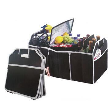 Collapsible Car Trunk Organizer Truck Cargo Portable Tools Folding Storage Bag Case Space Saving Auto Boot Organizer CCA6509 50pcs