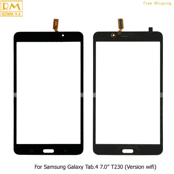 5pcs For Samsung Galaxy Tab.4 Lite 7.0' Wifi Ver T230 & 3G Ver T231 Front Touch Screen Panel Digitizer Outer Glass Sensor Replacement Parts