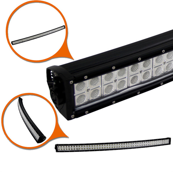 42 inch 240W Curved Offroad LED Work Light Bar Spot/Flood/Combo Beam Fog Roof Lamp ATV 4WD AWD 4X4 SUV Boat Jeep Trailer Ford Camper Wagon