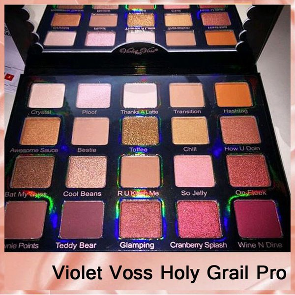 2017 New Violet Voss Holy Grail Pro Eyeshadow Palette Limited Edition Eyeshadow Palette Top Quality Dhl 660077 1 Eye Primer Eyeshadow For Blue Eyes