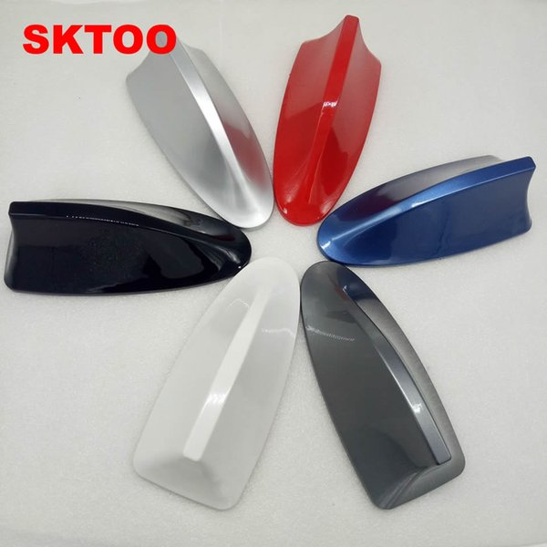 For Volkswagen Vw Passat B5 B6 Polo Sedan Cars Shark Fin Antenna Car  Aerials With Blank Radio To Auto Roof Antena And 3M Sticker Cool Automotive