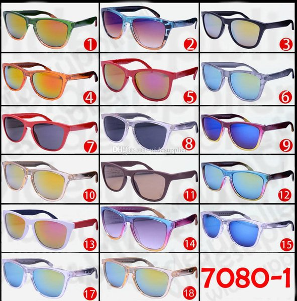 Hot Cheap Sunglasses for Men and Women Outdoor Sport Cycling Sun Glass Eyewear Brand Designer Sunglasses Sun shades 27 colors slections.