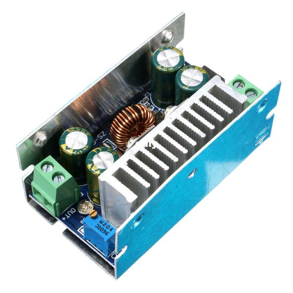 Voltaje Freeshipping Power Buck Convertidor Módulo reductor 200W 15A DC-DC 8-60V A 1-36V 12V 70x38x31mm Junta