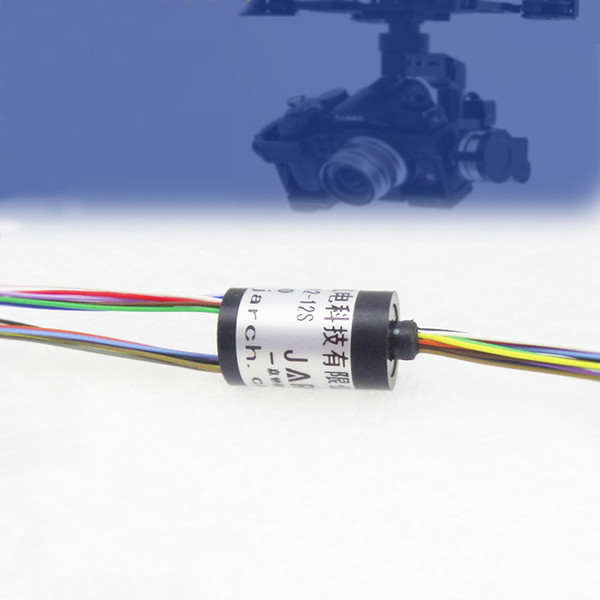 RC Drone Accessories Spare Parts Mini Slip Rings 12 Channel 12.4mm Out Dia. Stage Lights slip ring For High Speed Ball