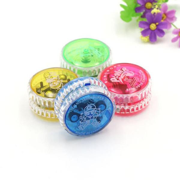2017 new 6 * 3cm glowing yo-yo line yo-yue puzzle children's toy manufacturers wholesale weight 35g free shipping