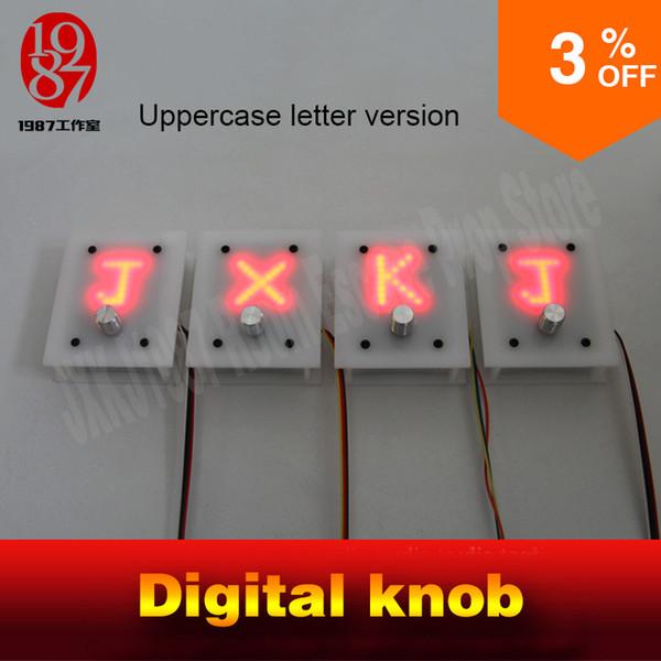 Room escape prop real life adventure digital knob letter version pannel display right letters to unlock Takagism game jxkj1987