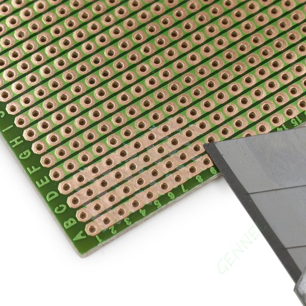 5 pi/èces PCB Bricolage souder Cuivre Prototype Printed Circuit Board 70mm x 90mm Ils