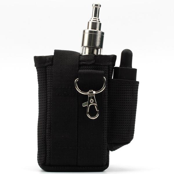 Coil Father Pbag Vapor Pocket E Cigarette Case Double Deck For Rda Box Mod Battery Bag VS X6 X9 UD Vape Bag