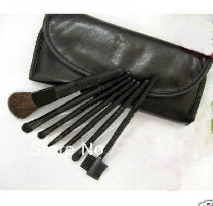 Самая продаваемая самая низкая цена! Новый 7 шт профессиональные наборы кистей+кожаный мешочек!(5Sets) бесплатная доставка
