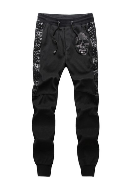 Wholesale- Mens Joggers Pants New Hip Hop Men Pants Camouflage Pencil Pants Skinny Sweatpants Trousers Man Camo Joggers