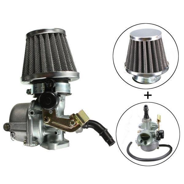 PZ19 Carburettor W/ Air Filter For Honda Z50R CT70 Trail Minibike 50cc 70cc Carb cable choke