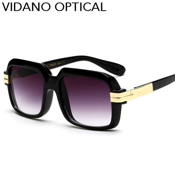 Vidano Optical 2017 Neue Ankunft Luxus Übergroße Sonnenbrille Für Männer Frauen Sommer Stilvolle Mode Designer Sonnenbrille UV400