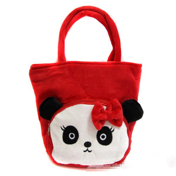 Wholesale- Hot selling cartoon pattern children handbag kids fashion KT storage pocket animal bags for little girls boy gift wholesale