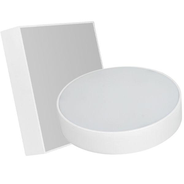 Oberflächenmontierte flache LED-Panels 16W 24W 30W 2835SMD Quadratisch extrem helle Deckenleuchte AC100-240V LED Downlight Externe UL-Zulassung