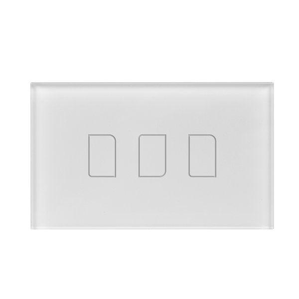 Wholesale-US Standard Broadlink TC2 3 Gang Wireless Remote Control Wifi Wall Light Touch Screen Switch 170V-240V Cost-effective Smart Home