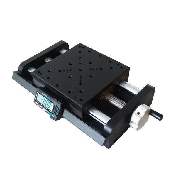 Этап SSP-304MP цифровой ручной, платформа перевода винта микрометра высокой точности линейная, станция смещения, перемещение 150mm