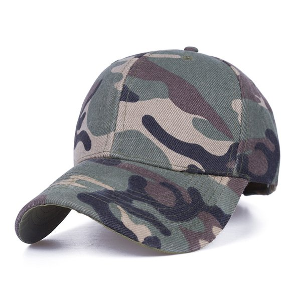 New Fashion Unisex Baseball Cap Camouflage Caps Snapback Hat For Men Women Outdoor Causual Bone Spring And Summer Sun Hat