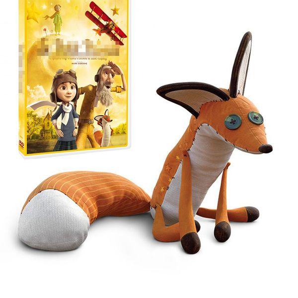 The Little Prince Fox Plush Dolls 40cm / 60cm Le Petit Prince Stuffed Animal Plush Education Toys For Baby Kids Birthday / Christmas Gift