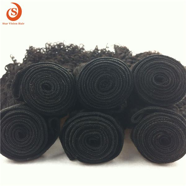 Qingdao Star Vision Hair Factory Wholesale Different Types Of Curly